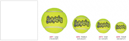 KONG Air Dog Tennis Ball